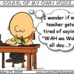 Charlie Browns teacher