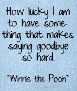 pooh goodbye quote
