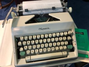 Love this script typewriter